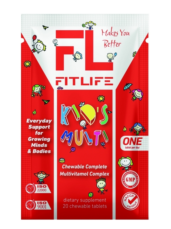 FitLife Kid's Multi 20 tab